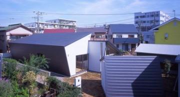small suburban futuristic house plans