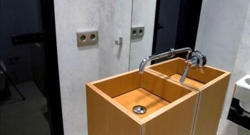 st petersburg loft floating sink