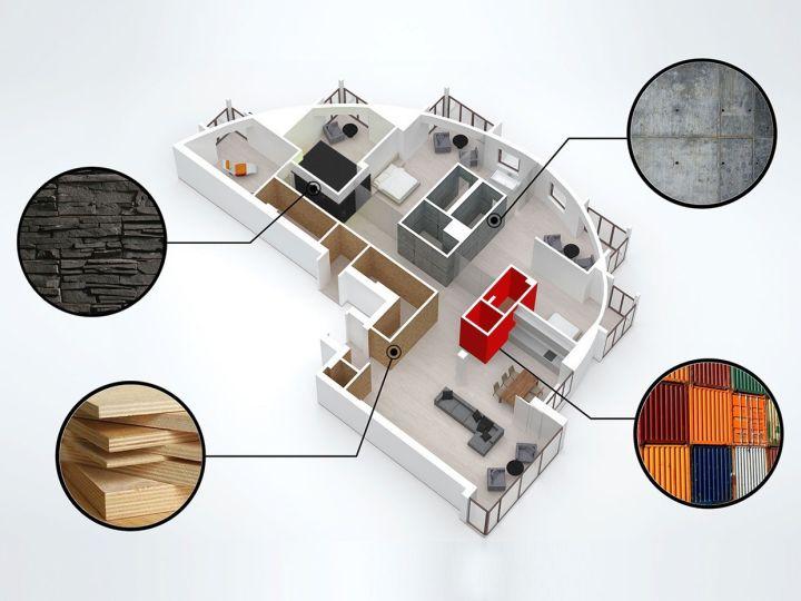 st petersburg loft material plan