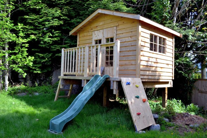 17 fun looking tree house on stilts ideas