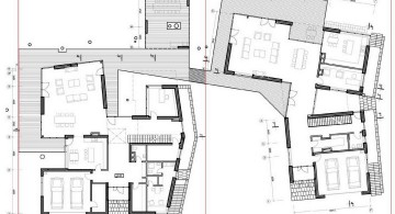 two villas first floor plan