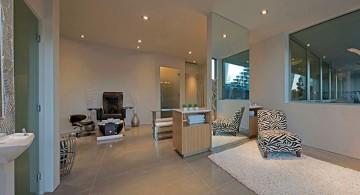ultramodern lake house home spa