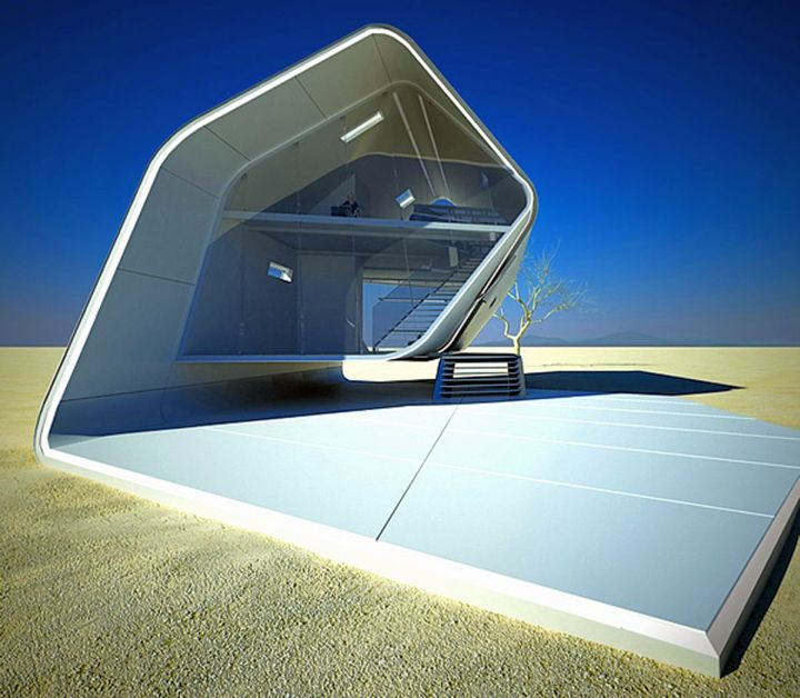 19 futuristic house plans that are actually mind blowing for Modern house design materials
