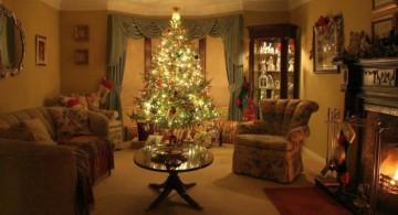 warm and cozy christmas room