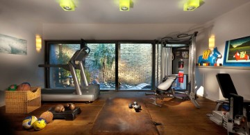 wide home gyms ideas