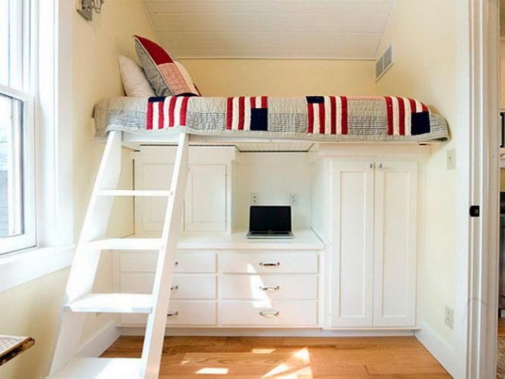Gallery For Adult Loft Beds With Desk Design Ideas