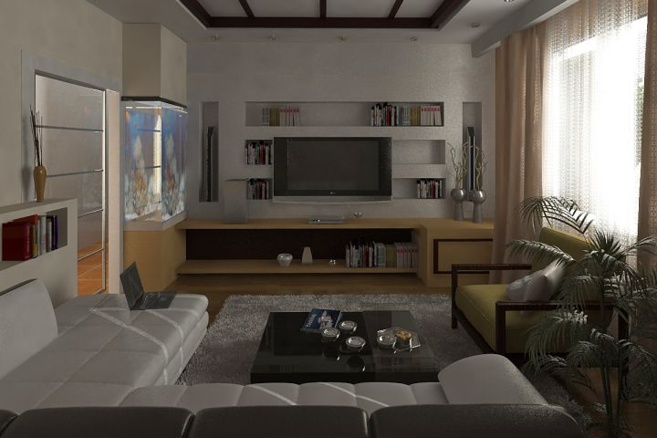 Bachelor Bedroom Decorating Ideas With Sofa Bed For Small Apartments