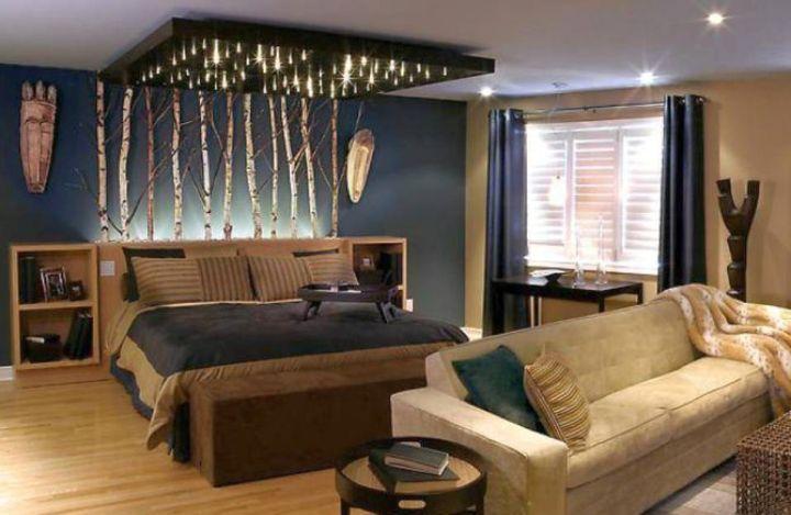 sporty bachelor bedroom decorating ideas. Black Bedroom Furniture Sets. Home Design Ideas