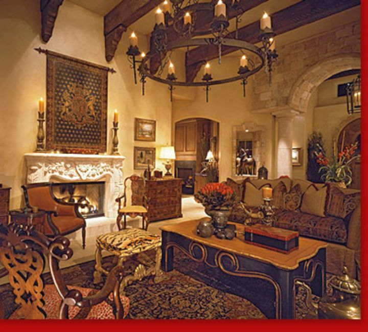 20 awesome tuscan living room designs for Tuscan design ideas