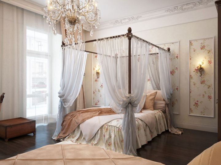 So, What Do You Think About Classy Most Romantic Bedrooms With Four Post  Canopied Bed Above? Itu0027s Amazing, Right? Just So You Know, That Photo Is  Only One ...