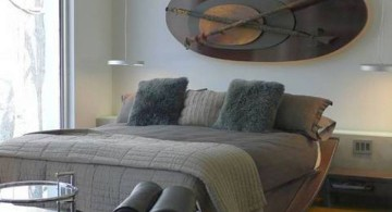 contemporary etnic bachelor bedroom decorating ideas