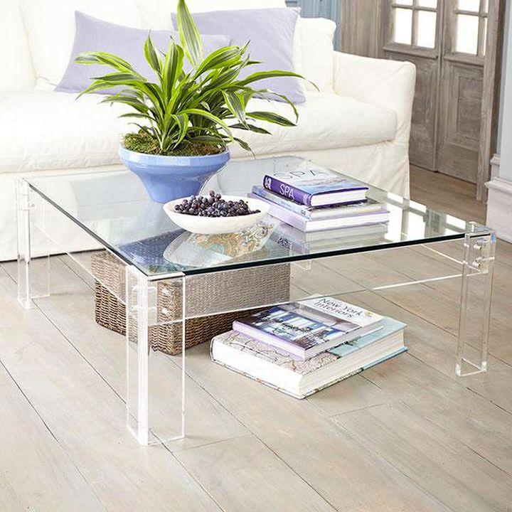 Cutting Edge Acrylic Coffee Tables Designs