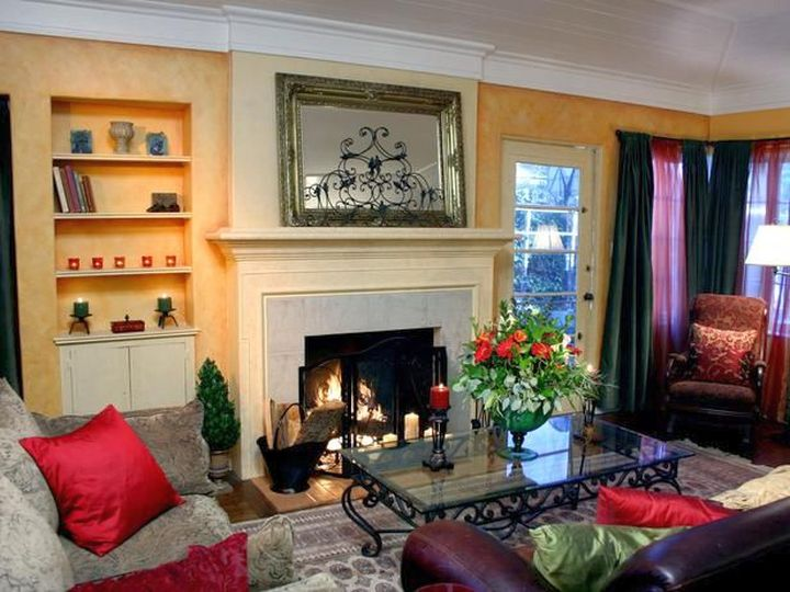stunning living room paint color ideas | Stunning Tuscan Living Room Color Ideas