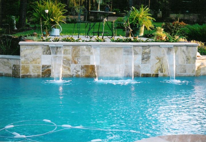 Swimming Pool Designs With Waterfalls : 20 Exquisite Waterfalls Designs for Pools Inground
