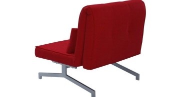 convertible bed designsin red