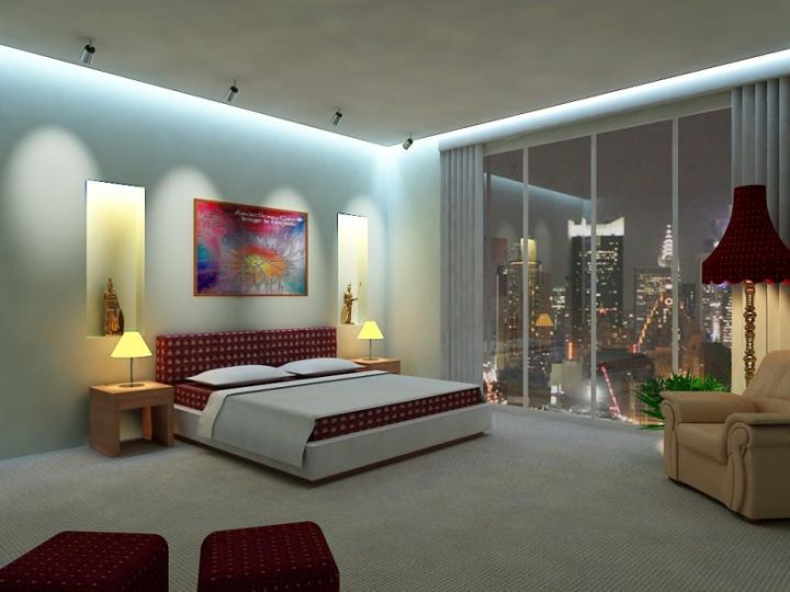 20 cool modern master bedroom ideas for Bedroom design gallery