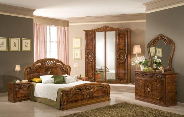 elegant tuscany bedroom furniture set