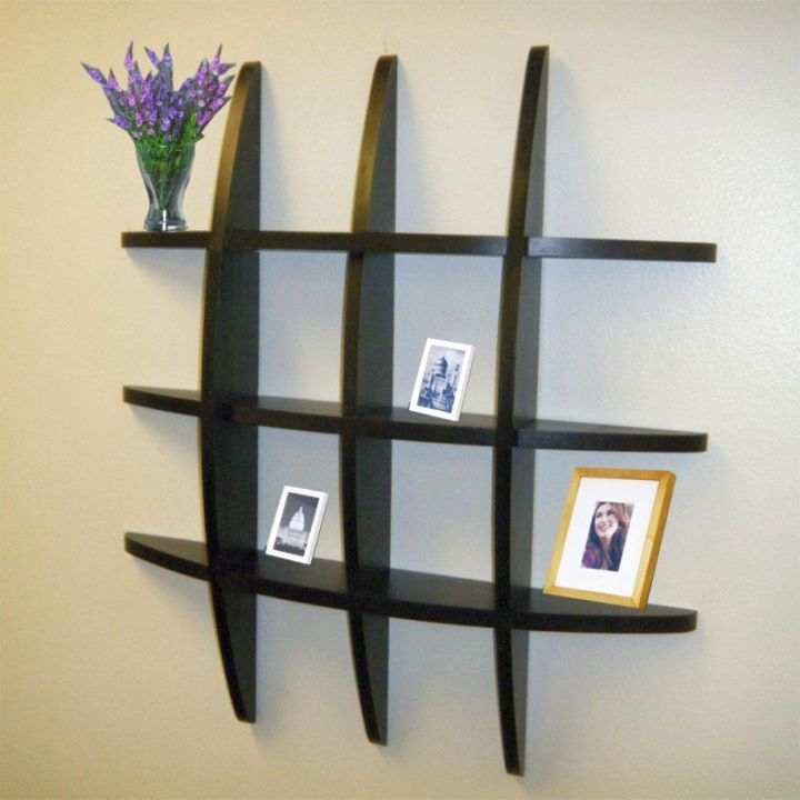 Delicieux Gallery For Elegant Wall Shelves Design Ideas