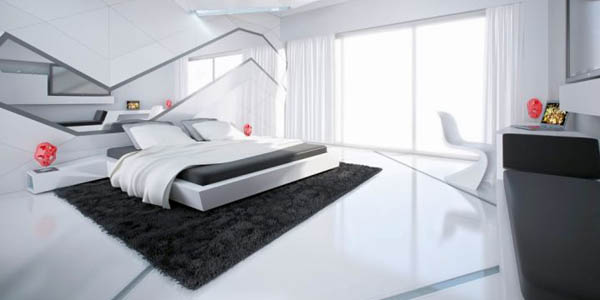 Cool Bedrooms Modern Interiors Design R
