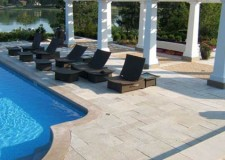 featured image of pool deck stone