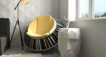 featured image of round reading chair