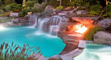 featured image of waterfalls for pool inground