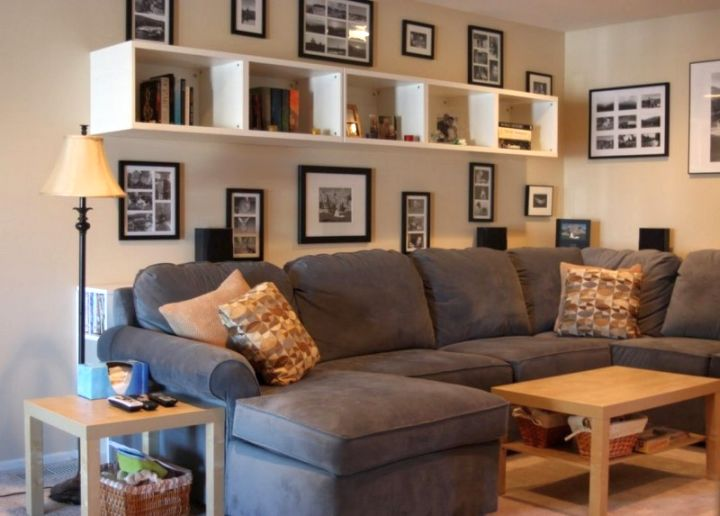 Cool Shelving Ideas For Living Room Walls Style