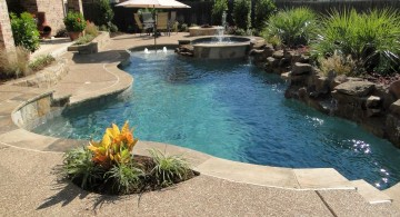grecian lazy l shape swimming pools for small spaces
