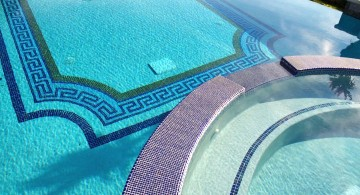 grecian mosaic best pool tile