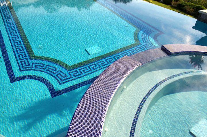grecian mosaic best pool tile