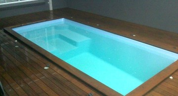 indoor swimming pools for small spaces