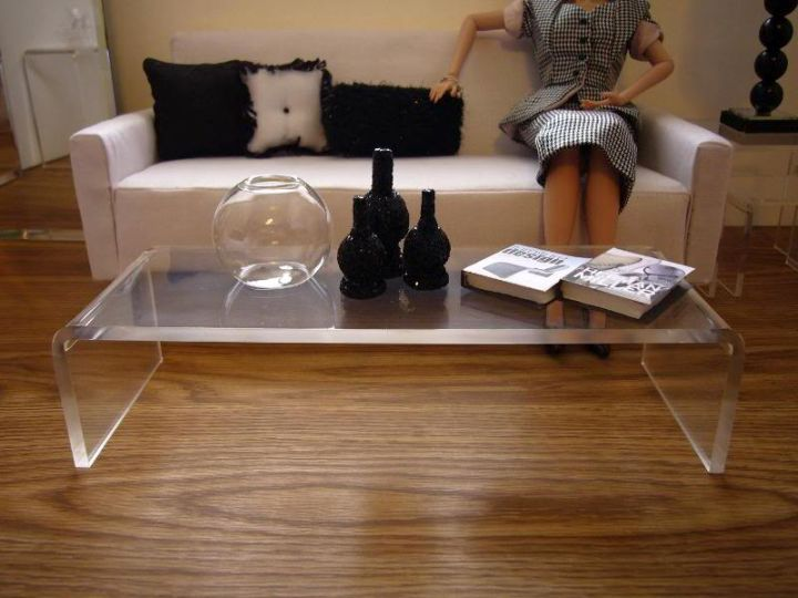 Cutting edge acrylic coffee tables designs Lucite coffee table ikea