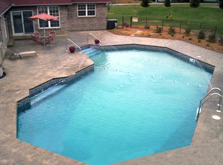 lazy l pool designs for small back yard