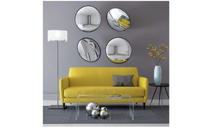 minimalist modern acrylic coffee tables