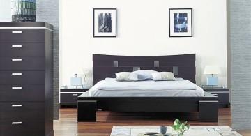 minimalist modern asian bedroom