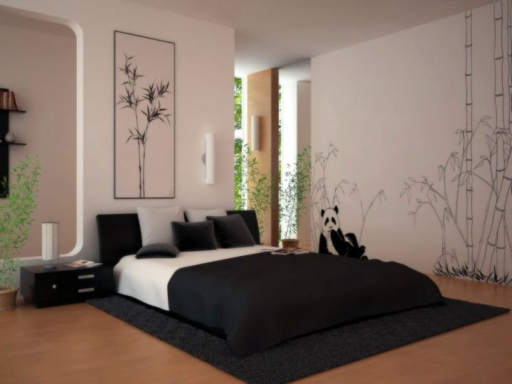 20 minimalists modern asian bedroom decor ideas for Modern minimalist bed