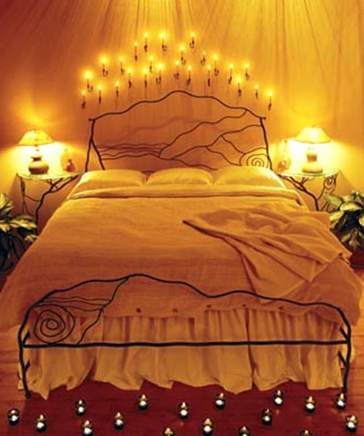 20 most romantic bedroom decoration ideas Romantic bed designs