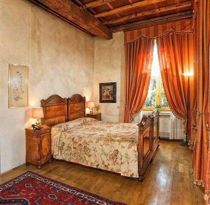 Warm Tuscany Bedroom Furniture for Rustic Interior