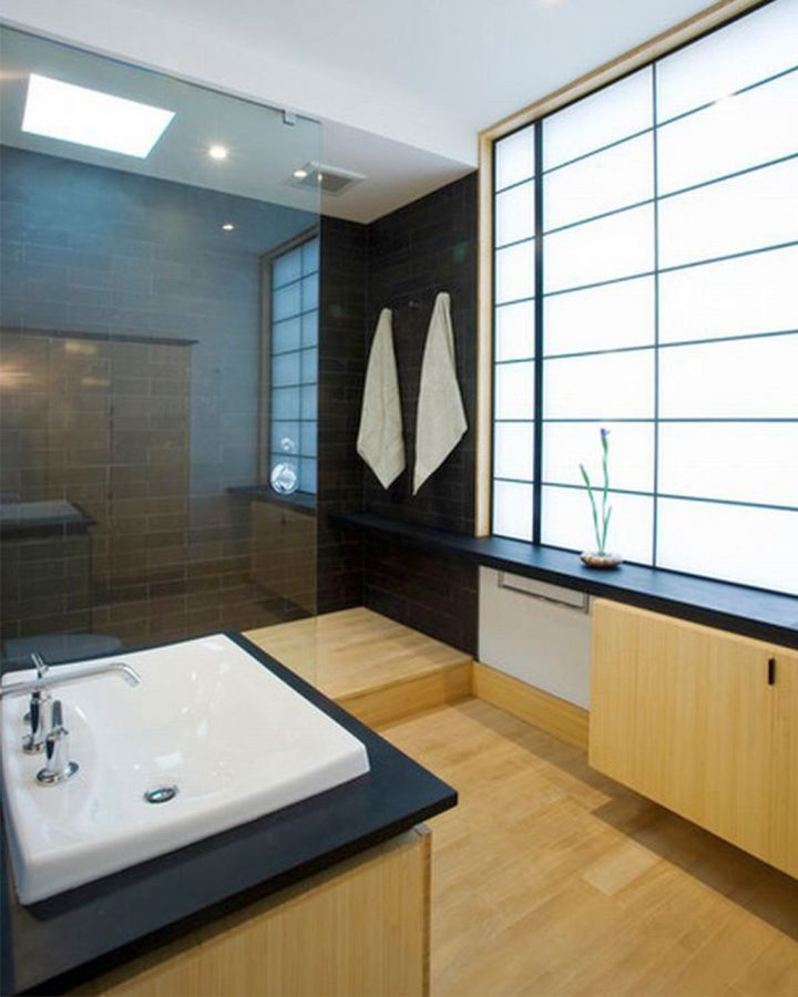 Brilliant ideas for japanese bathroom designs for Bathroom ideas japanese