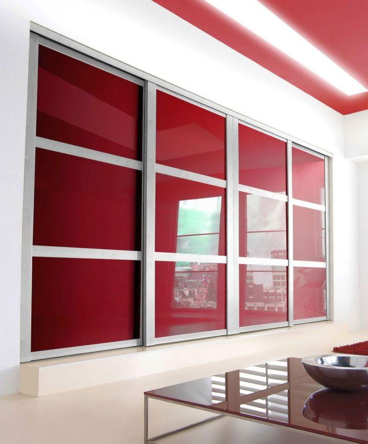 Bedroom Sliding Cupboard Designs Light Purple Bedroom Paint Ideas Modern Blue Bedroom Ideas Art Deco Style Bedroom Ideas: Minimalist Modern Sliding Glass Door Designs