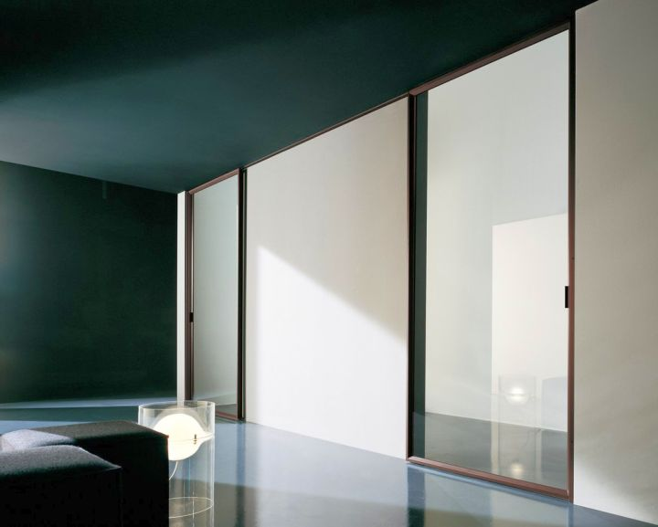 Minimalist modern sliding glass door designs Sliding glass wall doors