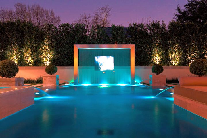 20 Exquisite Waterfalls Designs For Pools Inground