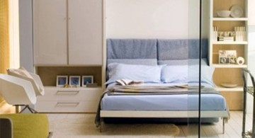 murphy bed couch ideas with glass door