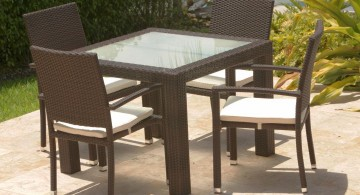 outdoor zen dining rooms
