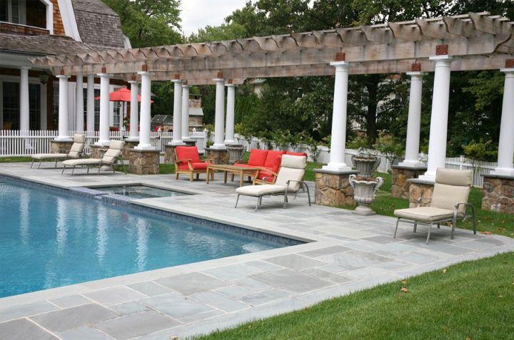 pool deck stone