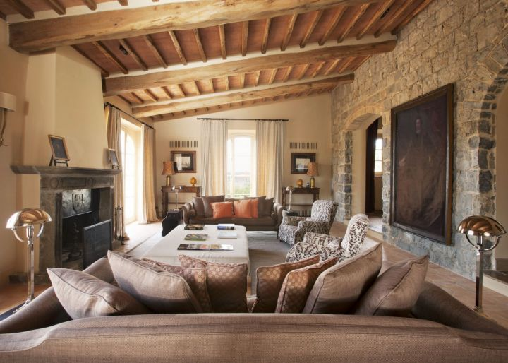 20 awesome tuscan living room designs Rustic tuscan house plans