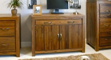 rustic and simple hideaway desk designs