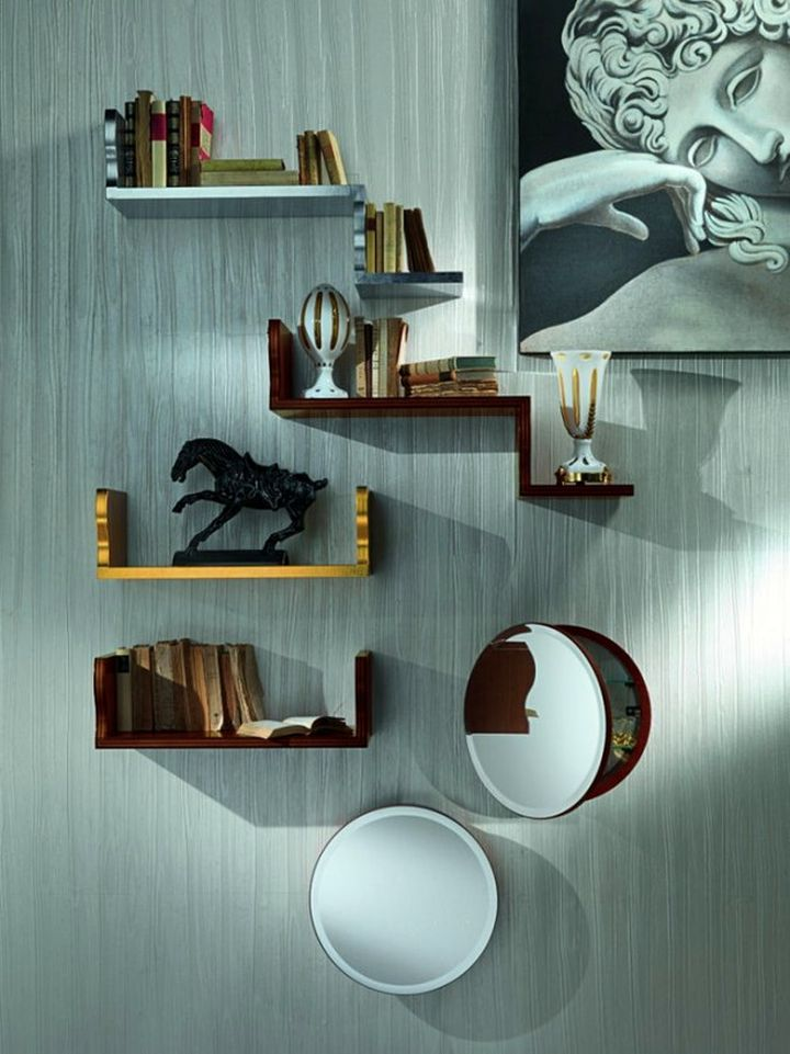 Elegant Wall Shelves Design Inspirations