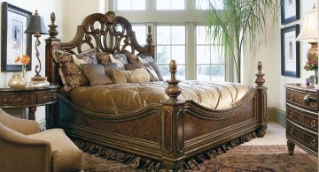 snug and cozy bed tuscany bedroom furniture