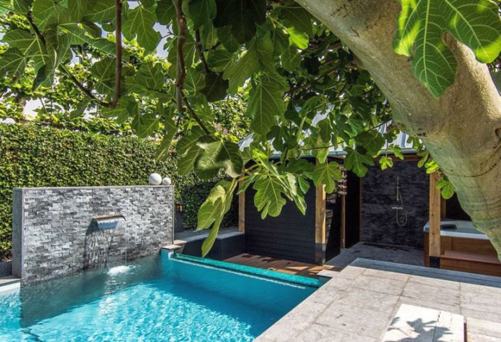 swimming pools for small spaces for apartment complex